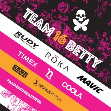 team betty sponsor graphic